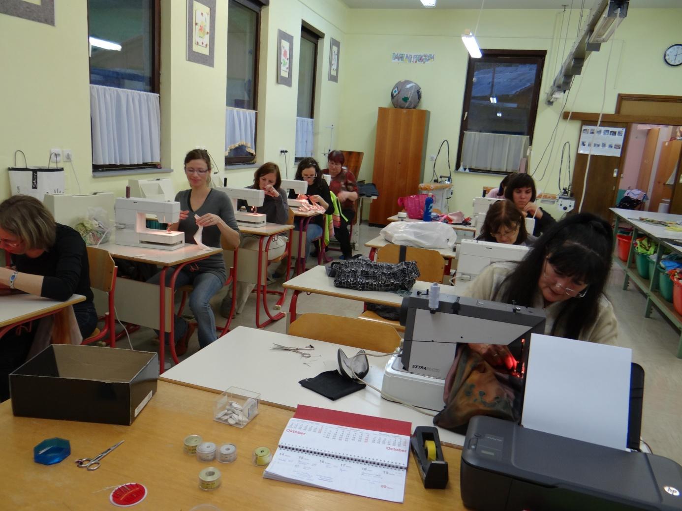 Tečaj šivanja – 27.1.2014